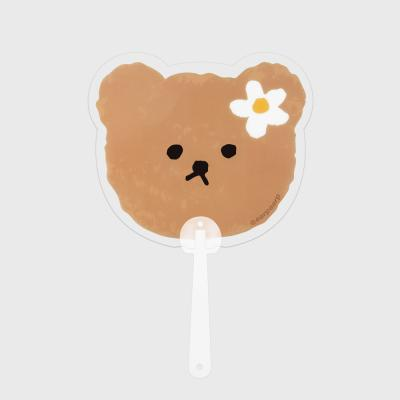 Dot flower bear(부채)