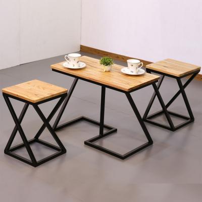 차 한잔의 여유 참죽 원목 테이블 의자 세트 360