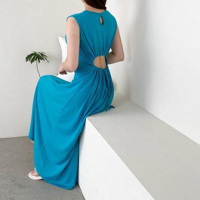 Circle Cutout Long Dress