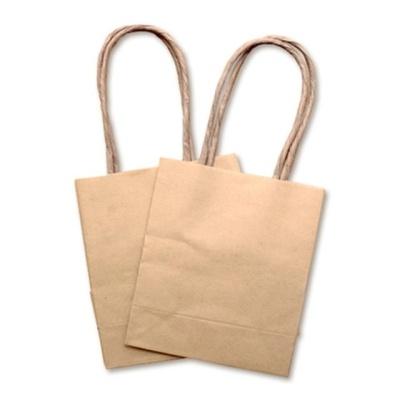 크라프트 무지 종이 쇼핑백 크리스마스 선물 포장