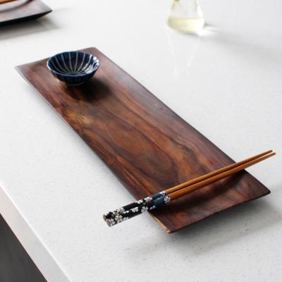 소노클링(장미목) 직사각 접시 - (대)