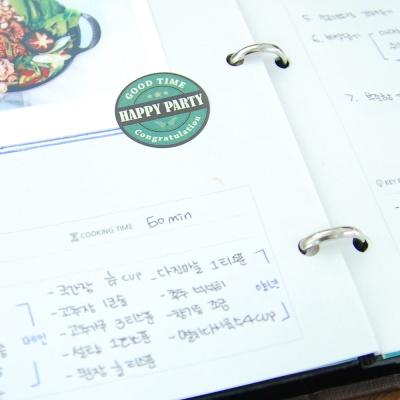 제이로그 레시피북 바인더(이니셜) - 10 color