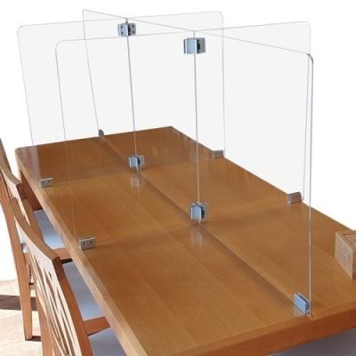 식당 칸막이 6인용 책상 가림막(1750*400mm)