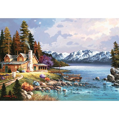 직소퍼즐 [500조각] - 산아래 오두막집 (PR3534)