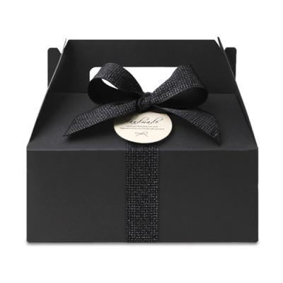 블랙 핸들 상자 소 (2개)