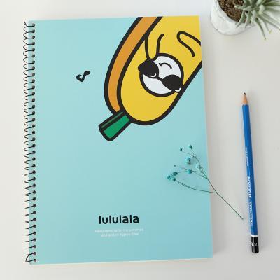 포포팬시 바나나 연습장 블루