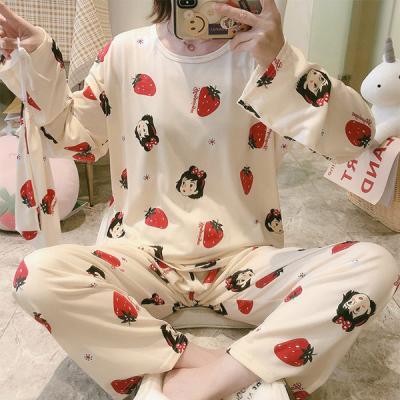 깨돌이 긴팔 귀여운 캐릭터 잠옷 홈웨어 파자마세트