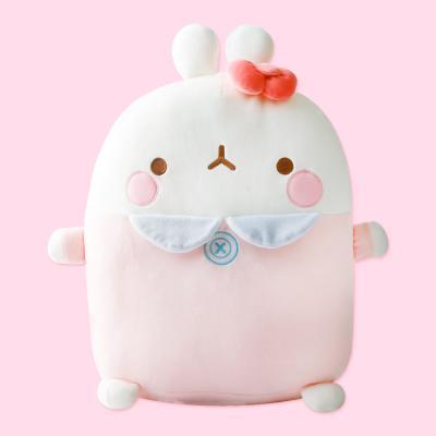 몰랑이 베이비 바디쿠션 인형-핑크
