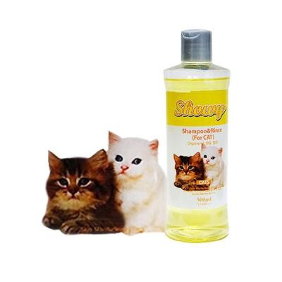 쇼니 유기농 고양이 샴푸&린스 500㎖ - 파파야향