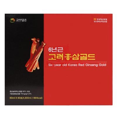 [굿라이프] 고려홍삼골드 80mx60포