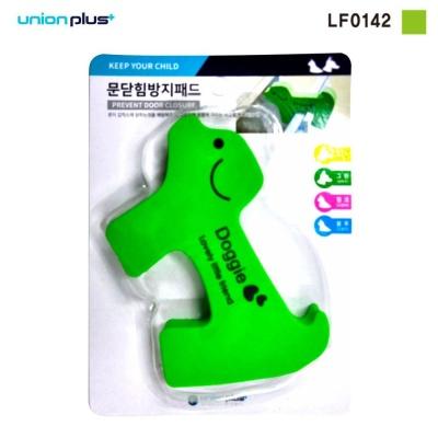 안전용품 문닫힘방지 패드 강아지 그린 LF0142