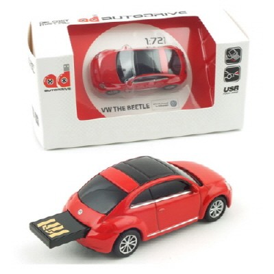 1/72 폭스바겐 더 비틀 USB 16GB (WE002060RE) USB 메모리 모형자동차