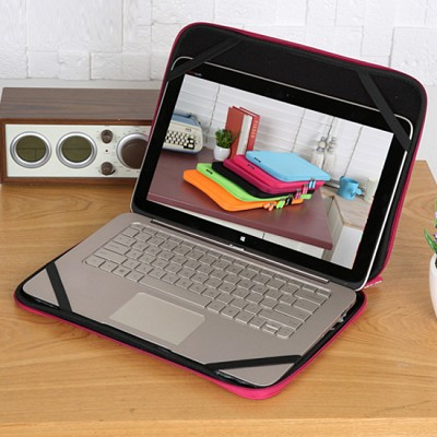 라이트백 12.5형 노트북 파우치 Light Bag (생활 방수 / 양방향 지퍼 / 6가지 컬러 / 부드러운 안감처리)