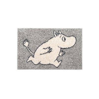 러그 moomin rug running silver