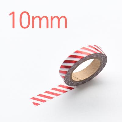왈가닥스 포일 마스킹테이프 - 301 Red Oblique 10mm