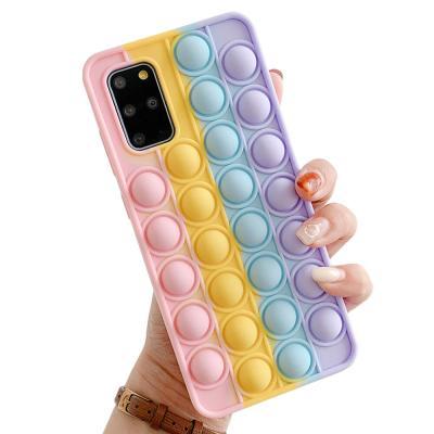 P613 갤럭시S10 팝잇 뽁뽁이 푸쉬팝 실리콘 케이스