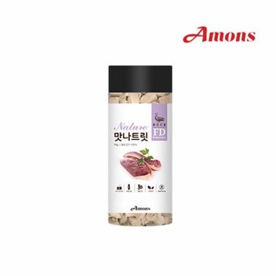 Amons 맛나트릿 동결건조-오리 75g (pt)
