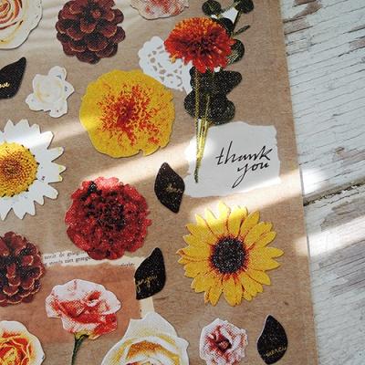 JR 스티커 1044-flower dance