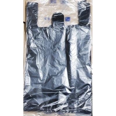 업소용 식당 비닐 쇼핑백 검정색 37 x46cm 70매 X20