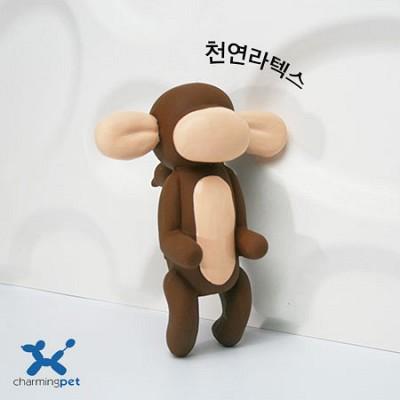 몽키맨 풍선친구 천연 라텍스 삑삑이 장난감