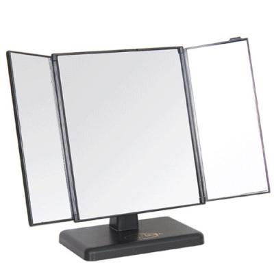 파노라마 3면 사각 탁상거울 (대형)