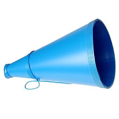 응원용 메가폰 대형 (블루)