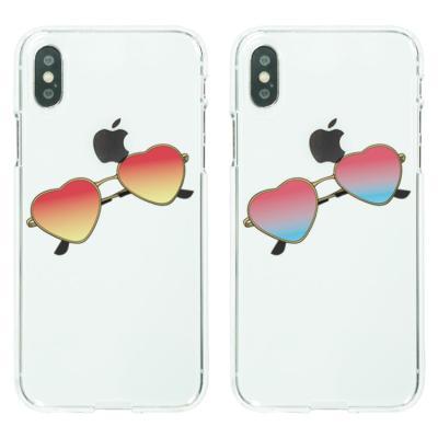 아이폰8케이스 하트 선글라스 소프트젤리케이스