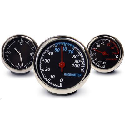 아날로그 써클 멀티 온도계 습도계 시계