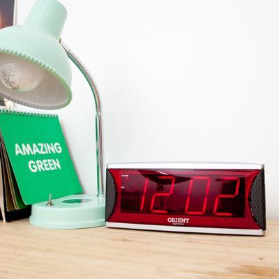 오리엔트 OT472DE LED 간편한 스누즈알람 디지털시계