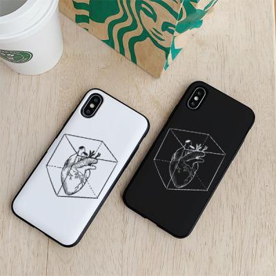 아이폰8플러스 HEARTBOX 카드케이스