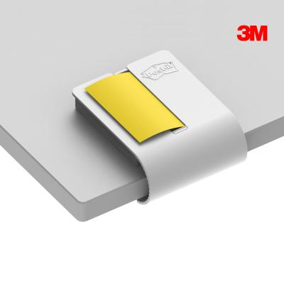 3M 포스트잇 강한점착용 클립 디스펜서 화이트