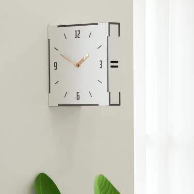 (ktk162)저소음 W 우드 양면벽시계