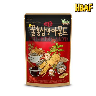 [길림양행] 꿀홍삼맛 아몬드 200g