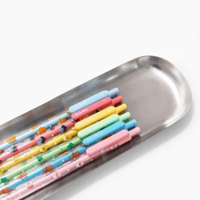 카카오 리틀프렌즈 슬림펜 젤펜 0.5mm