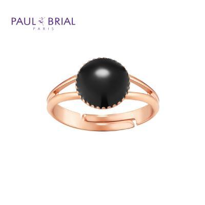폴브리알 PYBR0109 (PG) 서클 투라인 반지 BLACK