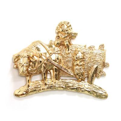 (kspz373)황소와 오누이 벽장식품 금