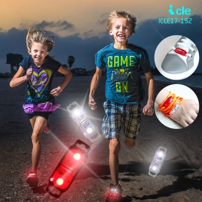 LED야간 안전등 운동화클립 충격시 반짝임 ICLE17-152