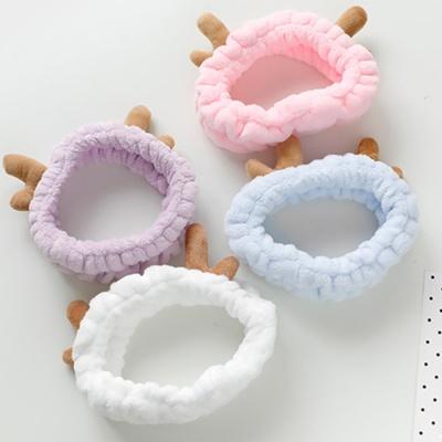 [클라모프] 아기사슴 목욕 헤어밴드 (색상 랜덤)