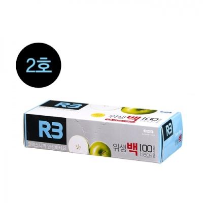 [코멕스산업] (R3) 위생백 2호 (100매) 402318