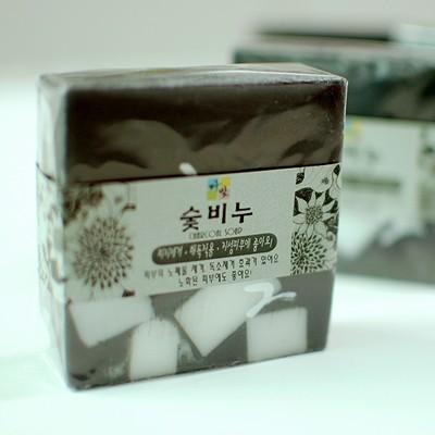 [다빛천연비누/mp비누] 숯 노화방지 (기본,리본포장)
