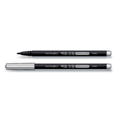 400 백점만점 컴퓨터용 싸인펜 (단면)