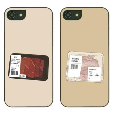 아이폰7플러스케이스 Meat 스타일케이스