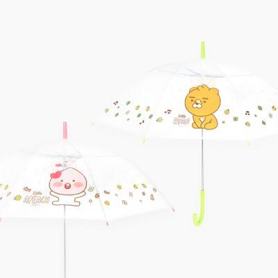카카오 리틀프렌즈 자동 투명 우산