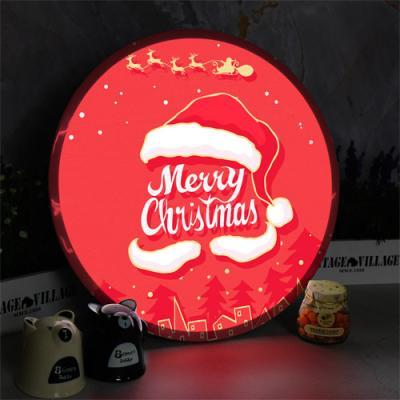 ne922-LED액자45R_해피크리스마스