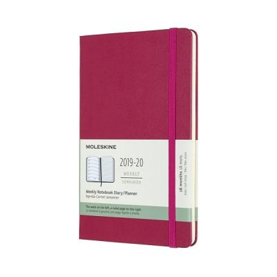 몰스킨 2020위클리(18M)/스내피 핑크 하드 L