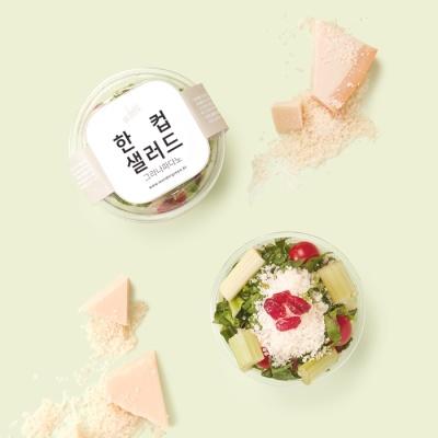 [원더그린X정기배송] 한컵샐러드 40팩(10팩X4주)