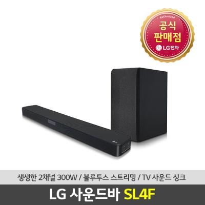 [LG전자] SL4F사운드바 홈시어터 무선우퍼 300W