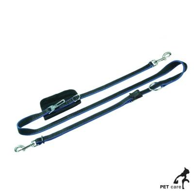 페이텐토 길이조절 양쪽고리 다용도리드줄 (블랙)