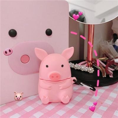 실리콘 리얼 돼지 에어팟 1세대 2세대 케이스