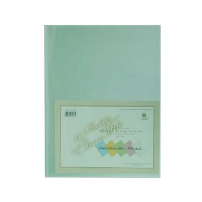 투명5매크리어화일F427-7 녹색 (개) 92187